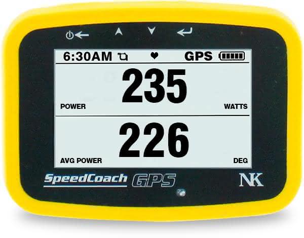 EmPower Oarlock can measure Power